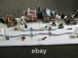 4FT Christmas Village Display Platform J42 For Lemax Dept56 Dickens + More