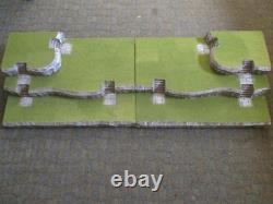 4FT Halloween Village Display Platform Base H36 For Lemax Dept56 Dickens + More