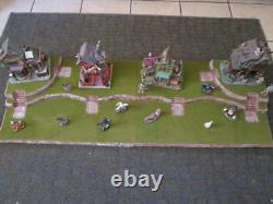 4FT Halloween Village Display Platform Base H37 For Lemax Dept56 Dickens + More