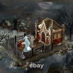 Christmas Carol Cemetery set Department 56 Dickens Village 6000601 Halloween Z
