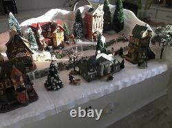 Christmas Village Display Platform for Dept 56 Lemax Dickens Snow Village