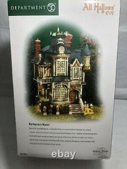 DEPT 56 DICKENS' VILLAGE All Hallows Eve BARLEYCORN MANOR New In Box
