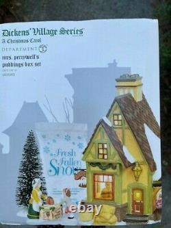 DEPT 56 DICKENS' Village MRS. PERRYWELL'S PUDDING Box Set NIB