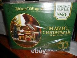 DEPT 56 DICKENS' Village THE MAGIC OF CHRISTMAS A Holiday Tradition SEALED