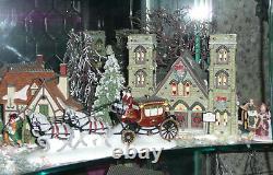 DEPT 56 Dicken's Village Snow & Christmas in the City Bldgs People Trees Etc
