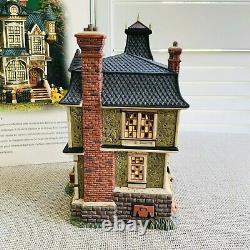 DEPT 56 Dickens Village All Hallows Eve Halloween BARLEYCORN MANOR #58731 MIB