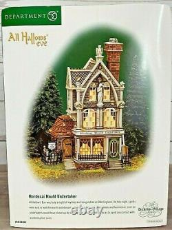DEPT 56 Dickens Village All Hallows' Eve MORDECAI MOULD UNDERTAKER Halloween