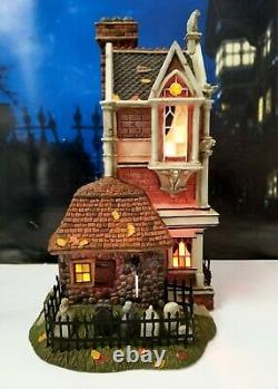 DEPT 56 Dickens Village All Hallows' Eve MORDECAI MOULD UNDERTAKER! Halloween