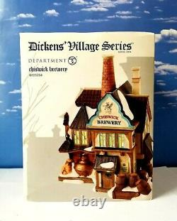 DEPT 56 Dickens Village CHISWICK BREWERY! Ale, Pub, Perfect, Rare