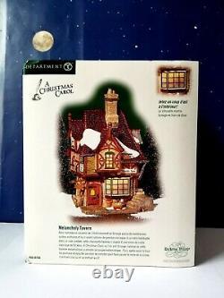 DEPT 56 Dickens Village MELANCHOLY TAVERN! Recent Version, Hard To Find #58703