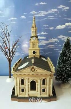 DEPT 56 Dickens Village ST. MARTIN-IN-THE-FIELDS CHURCH Trafalgar Square, London