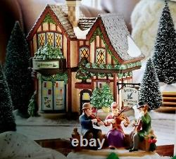 DEPT 56 Dickens Village Sounds of Christmas CHRISTMAS SHOP! Plays Xmas Music