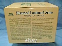 DEPT. 56 TOWER OF LONDON 1st HISTORICAL LANDMARK SERIES DESIGN NEWithMINT