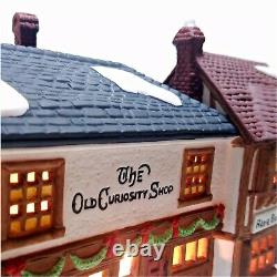 Department 56 1987 The Old Curiosity Shop Dickens Village #5905-6 Retired Pieces