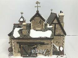 Department 56 Cartwright Coach Builders Collectors Ed. Numbered Dickens 58759