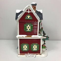 Department 56 Christmas Crafts Cottage Snow Village House Lighted Holiday Rare