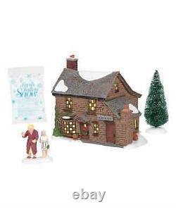 Department 56 Dickens A Christmas Carol Scrooge's Boyhood Home Lit Building