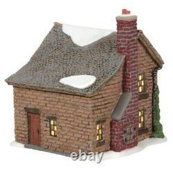 Department 56 Dickens A Christmas Carol Scrooges Boyhood Home Set of 4 6005415