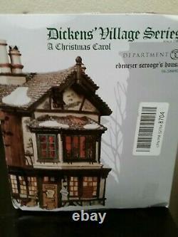 Department 56 Dickens' Christmas Carol EBENEZER SCROOGE'S HOUSE