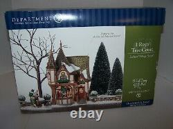 Department 56 Dickens Village 1 Royal Tree Court 58506 2002 Retired New In Box