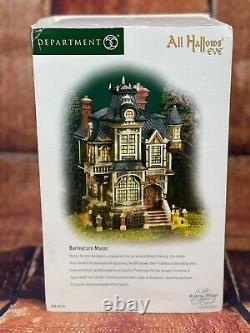 Department 56 Dickens Village All Hallows' Eve Barleycorn Manor 56.58731