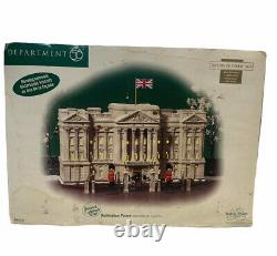 Department 56 Dickens Village Buckingham Palace NEW in box Number 237 Of 12,000