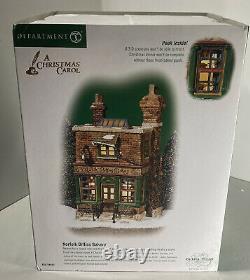 Department 56 Dickens Village Christmas Carol Lighted NORFOLK BIFFINS BAKERY