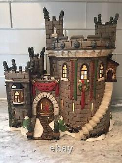 Department 56 Dickens' Village HEATHMOOR CASTLE Limited 1 yr production