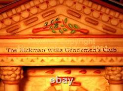 Department 56 Dickens Village HICKMAN WELLS GENTLEMEN'S CLUB! 58743 NeW! MINT