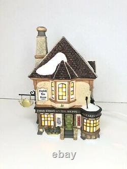 Department 56 Dickens' Village Joseph Edward Tea Shoppe 4020183 Lighted Building