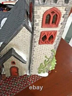 Department 56 Dickens Village Norman Church Very rare. Limited #2936/ 3500