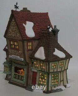Department 56 Dickens Village Retired Lot 7 Illuminated Lighted Christmas Bldgs