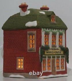 Department 56 Dickens Village Retired Lot 8 Illuminated Lighted Christmas Houses