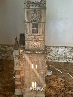 Department 56 Dickens Village Series Westminster Abbey #5658517 Retired No Box