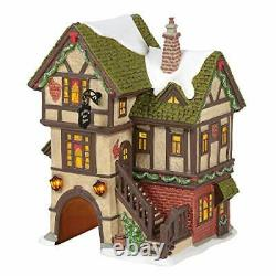 Department 56 Dickens Village The Mulberry Gate House Ornament, 1.57 inch High
