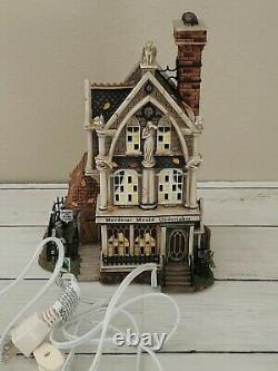 Department 56 Halloween Mordecai Mould Undertaker Dickens Village Ceramic Lights