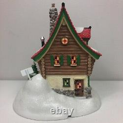 Department 56 Nollies And Ollies Custom Snowboards Christmas Village House Rare