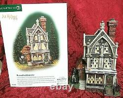 Department 56 Porcelain Dicken's Village/Halloween Mordecai Mould Undertaker