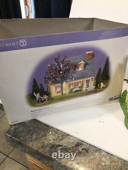 Department 56 Snow Village Easter -Happy Easter House Gift Set #55090 Rare