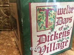 Department 56 TWELVE DAYS OF DICKENS CHRISTMAS Twelve Drummers Drumming 58387