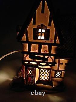 Department 56 The Dickens Village Series The Melancholy Tavern #58347 In The Box