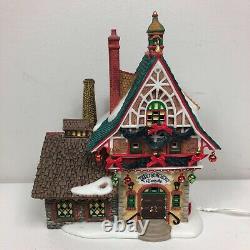 Department 56 Weihnachten Glashutte Alpine Christmas Village House Lighted 2005