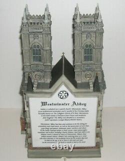 Department 56 Westminster Abbey Dickens Village Historical Landmark Series