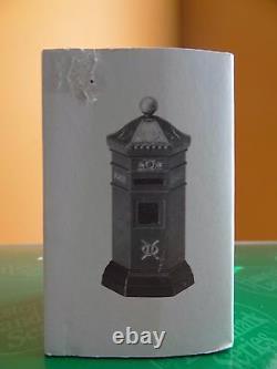 Dept56 58341 Big Ben Clock Tower English Post Mail Box Dickens Christmas Village
