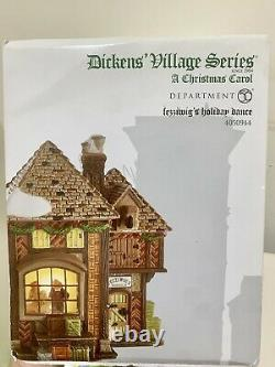 Dept56 Dickens' A Christmas Carol Fezziwig's Holiday Dance Retired Hard To Find