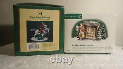 Dept 56 12 Days of Christmas #11 and sign