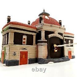 Dept 56 1989 Dickens Village Victoria Station Retired #55743 Brownstone Granite