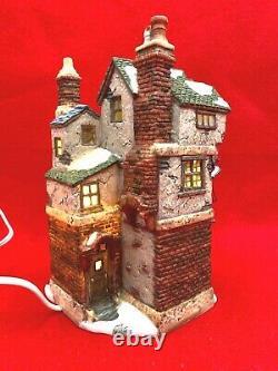 Dept 56 A Christmas Carol Cratchit's Corner 58486 Peek Inside Box & Light Cord