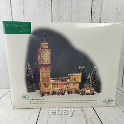 Dept 56 BIG BEN Dickens Village, Historical Landmark Series 2 Pcs Excellent