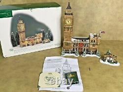 Dept 56 Big Ben Dickens Village Landmark Series No Snow Retired 1998 with Box